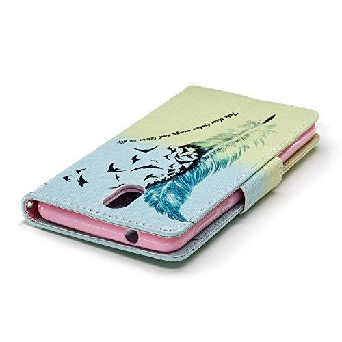 Cuir Porte Flip 3 Portefeuille 1 printemps pour PU Nokia Nokia 1 Dragonne 2018 Printemps Cartes Housse avec Étui Case Fonction BONROY Coque Wallet Support 2018 Cover 3 xnT0pqC0wY