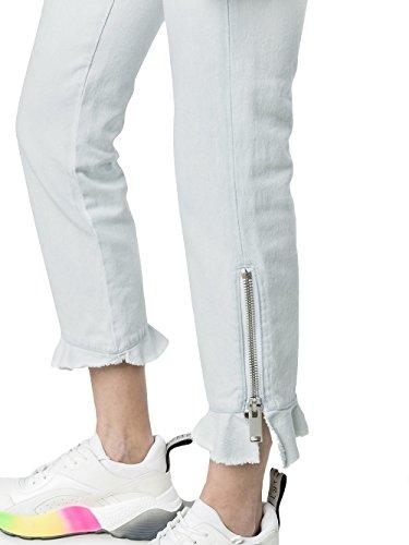 Cotone Jeans Azzurro Donna 2441mdp42l18429181 Msgm dpgwtqt