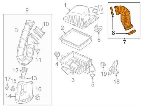 chevy sonic engine parts diagram