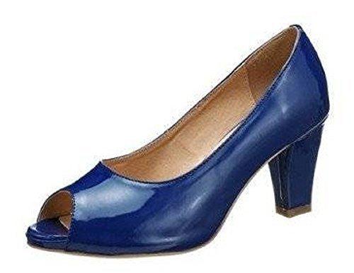 Andrea Conti Pumps - Zapatos de vestir para mujer Blue - BLUE