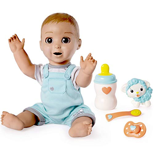 Luvabeau Interactive Talking Baby Doll with Expressions & Movement, Ages 4 & Up (Doll Black Angels)