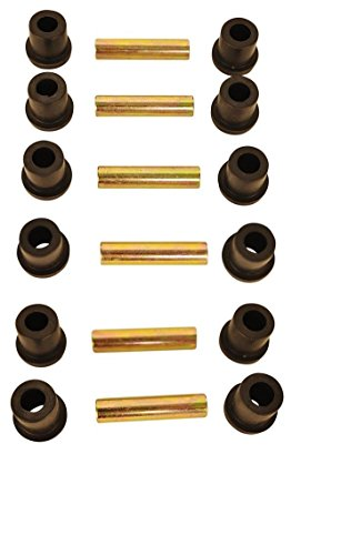 Spring Rear Bushings - EZGO Golf Cart Complete Rear Leaf Spring Bushing Set