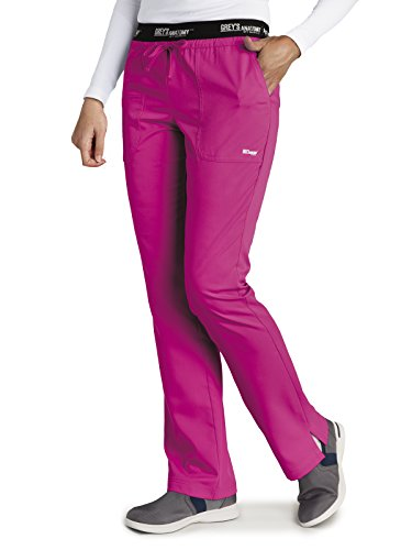 Grey's Anatomy Active 4275 Drawstring Scrub Pant Cosmo L by Barco (Image #1)