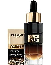 L'Oreal Paris Age Perfect Anti-Aging Under Eye Cream, Vitamin E, Antioxidants, Reduces Dark Circles, Puffiness, Age Perfect Cell Renewal, sensitive skin, Dermatologist Tested, Paraben Free