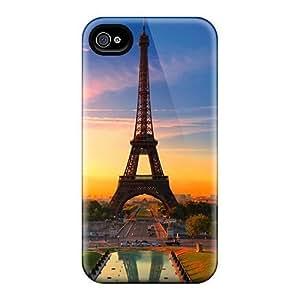 Dana Lindsey Mendez Perfect Tpu Case For Iphone 4/4s/ Anti-scratch Protector Case (eifeltower)