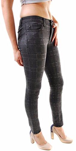 DL1961 Damen Florence Instaculpt Jeans Grau Größe 27
