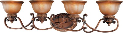 Minka Lavery 6354-177, Illuminati, 4 Light Bath Fixture, Illuminati Bronze - Illuminati 4 Light