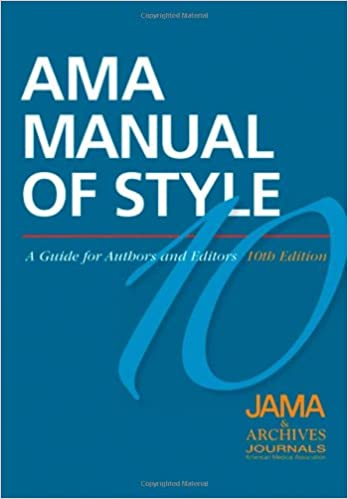 Amazon ama manual of style a guide for authors and editors ama manual of style a guide for authors and editors 10th edition fandeluxe Images