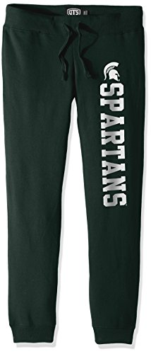 - NCAA Michigan State Spartans Women's Ots Fleece Pants, Small, Dark Green