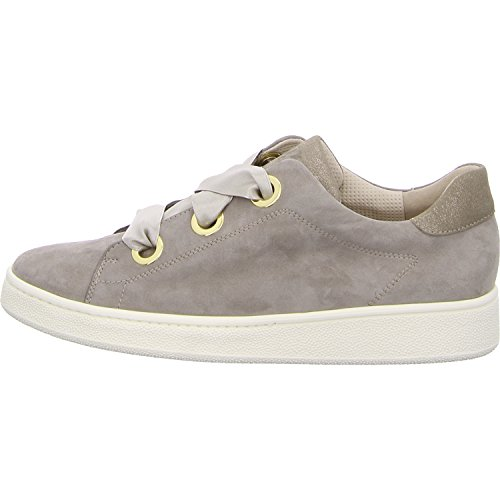 Basso Scuro Beige Donna Collo Green Paul qngpwF4Pp
