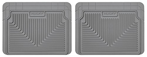 Husky Heavy Duty Floor Mats, 2pc 2nd Seat Mats, Color: Gray 52022