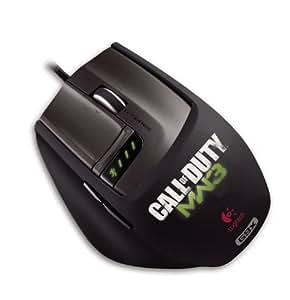 Logitech G9X Call of Duty - Ratón (USB, Óptico, Juego, Negro, 28g, Windows XP Windows Vista Windows 7)