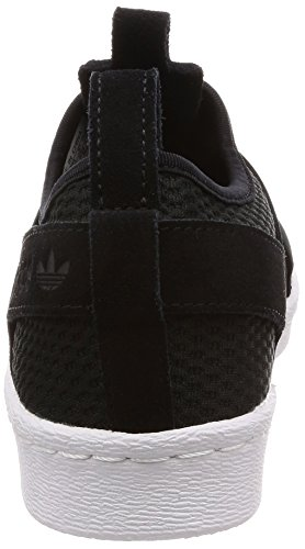 Black Footwear Negro para Mujer Core de White Black Slip Gimnasia adidas On Core 0 Zapatillas Superstar W wzC06qPx
