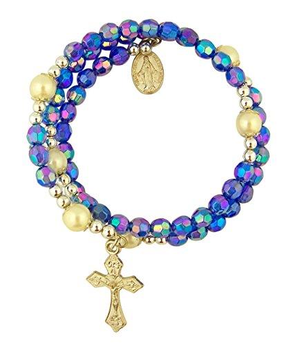 Acrylic Prayer Rosary Bracelet Miraculous product image