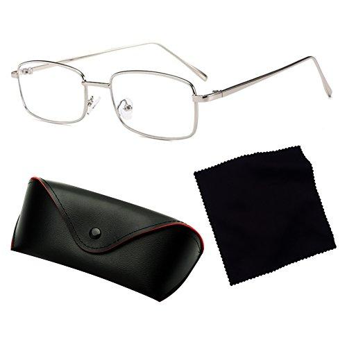 C6 Sol UV400 Negras Rectángulo de Metal de Sol para Marco Hombres juqilu de Pequeñas Cuadradas Gafas Mujeres Gafas qwaPHT