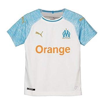 Puma Olympique de Marseille Home Shirt Replica Maillot Mixte Enfant