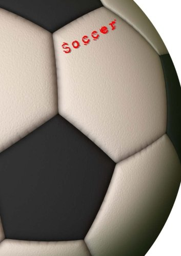 soccer - notebook: for your soccer notes, lined, 106 pages