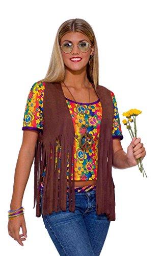61662 Cher Vest Ladies Hippie Vest 1960s (60s Cher)