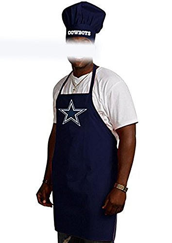 Dallas Cowboys Nfl Barbeque Apron And Chef S Hat Buy