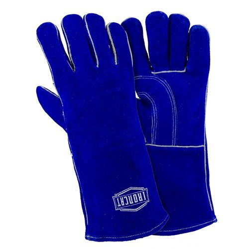 West Chester IRONCAT 9041 Select Split Cowhide Leather Stick Welding Gloves: Large, 12 Pairs