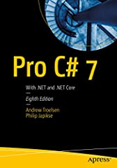 This essential classic title provides a comprehensive foundation in the C# programming language and the frameworks it lives in. Now in its 8th edition, you'll find all the very latest C# 7.1 and .NET 4.7 features here, along with four brand n...