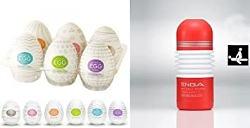 Variety Tenga Eggs And Tenga Cup Combo Package Soft Tube PlusEggs
