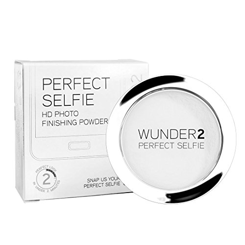 WUNDER2 PERFECT SELFIE HD Photo Finishing Powder - Translucent Setting Powder Makeup