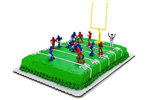 Kaskey Kids Football Guys: Red vs. Blue  Inspires Imagination with Open-Ended Play  Includes 2 Full Teams and More  For Ages 3 and Up by Kaskey Kids (Image #7)