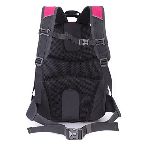 purpose Large Multi Laidaye Business Bag Travel Outdoor Rosered Shoulder Leisure Mountaineering Backpack Capacity zw4UqvEBw