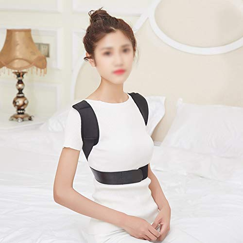 WYNZYJZBD Invisible Hunchback Correction Belt, Adult Students Universal Correction High and Low Shoulders with Chest Hunch Correction Belt Posture Correction (Size : M) by WYNZYJZBD (Image #3)