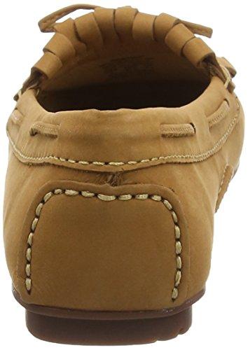 Sebago Damen Meriden Kiltie Loafer & Schuhe mit Absätzen Beige (Braun)