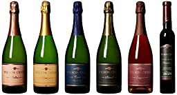 Wilson Creek Celebration Sparkling Mixed Pack, 5 x 750 mL and 1 x 375 mL