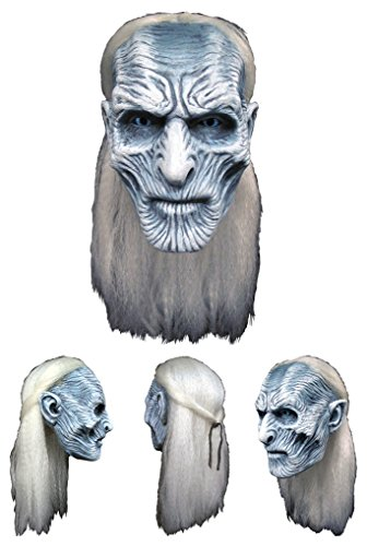 Adult Size Game Of Thrones White Walker Mask