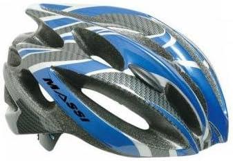 Massi Comp Carbon - Casco para Bicicleta Unisex, Color Rojo/Plateado: Amazon.es: Deportes y aire libre