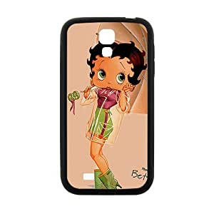 Umbrella unique Betty Boop Cell Phone Case for Samsung Galaxy S4