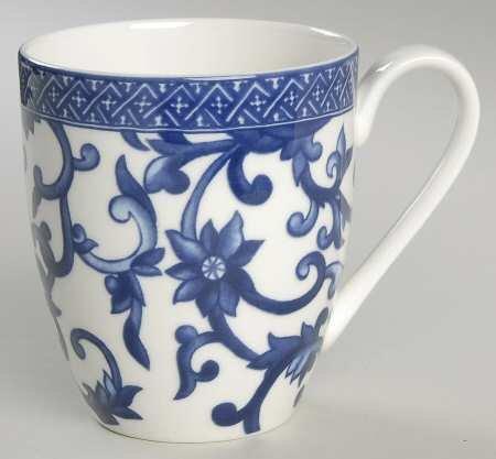 Ralph Lauren Mandarin Blue Dinnerware Collection; Mug
