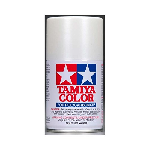 Tamiya USA TAM86057 PS-57 Pearl White 100ml Spray Can -