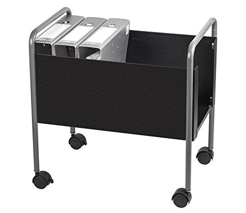 OfficeForce Bürowagen/Hängewagen Rollwagen für Hängeordner/Hängeregister, schwarz (20095)