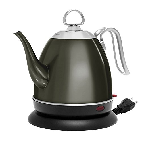 Chantal ELSL37-03M ME Mia Electric Kettle, 32 oz, Onyx