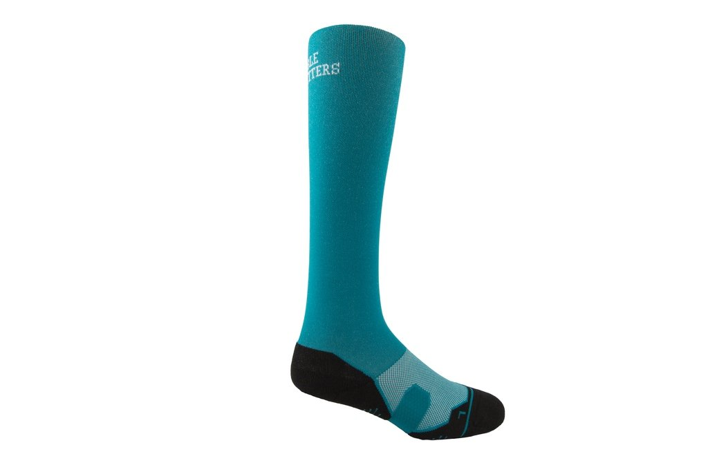 Noble Outfitters Over The Calf Perfect Fit Boot Sock  Island Blue OSFM