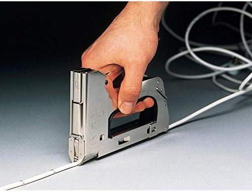 Rapid 20511850 Grapadora manual, Plateado, R36 Heavy-Duty Cable Tacker