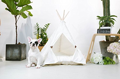 little-dove-Pet-Teepee-House-Pet-Bed-Cat- & Little Dove Pet Teepee House Pet Bed | Best Pet Supplies