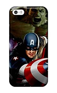 High Quality Shock Absorbing Case For Samsung Galaxy S3 i9300 Cover -colorful Captain America Movie