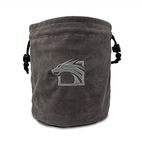 (Dragons Play Multipocket Dice Bag (Grey))