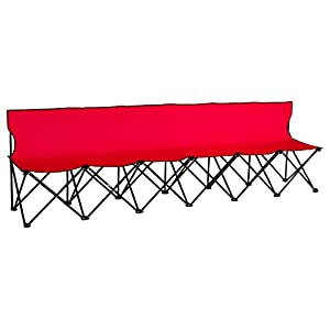 Trademark Innovations Portable Folding Sports Bench