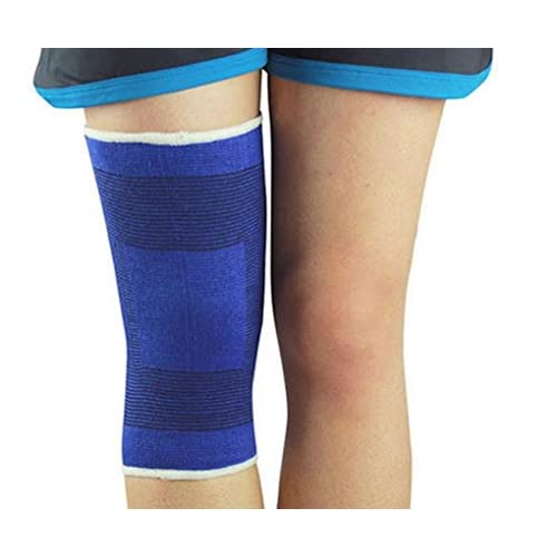 ACMEDE - Sport Genouillère Compression Ligamentaire Renforcée Elastique Pour Sport Volleyball Football Running Vélo Basketball Protection de Genoux
