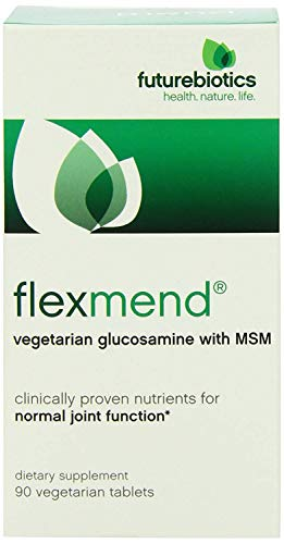 (Futurebiotics FlexMend Vegetarian Glucosamine with MSM, 90 Tablets)
