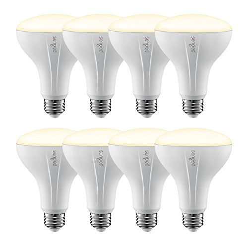 Element Classic by Sengled - 8 Pack - BR30 65W Equiv. Soft Light (2700K) Smart LED Floodlight Bulb, Zigbee, Works with Amazon Echo Plus & SmartThings, Hub Required for Amazon Alexa & Google Assistant by Sengled