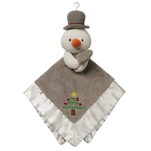- GUND Baby My First Christmas Snowman Lovey Plush Blanket, 12
