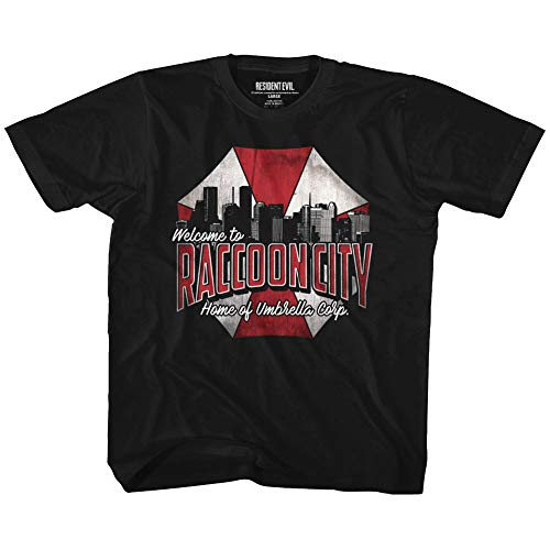 Price comparison product image Resident Evil Horror Syfy Sci-Fi Film Video Game Raccoon City Toddler Tshirt Tee